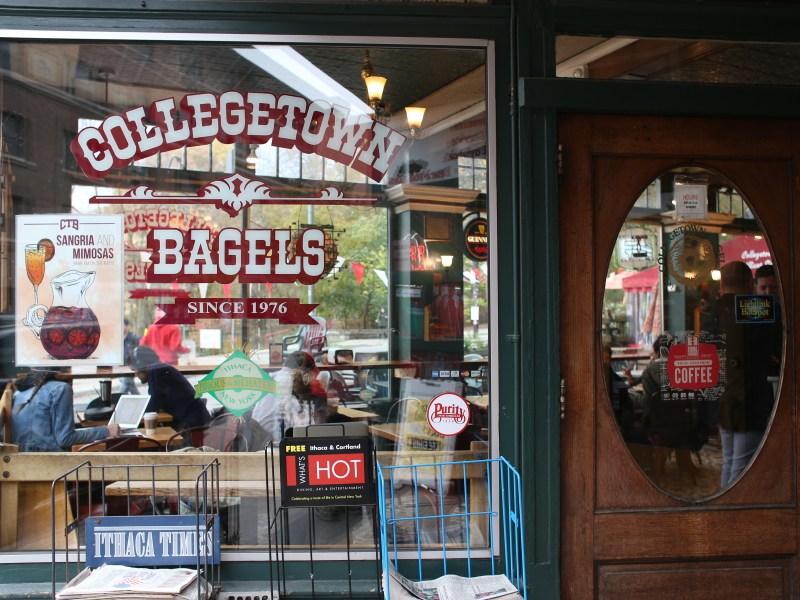 Collegetown Bagels (Katie Sims/Sun Staff Photographer)