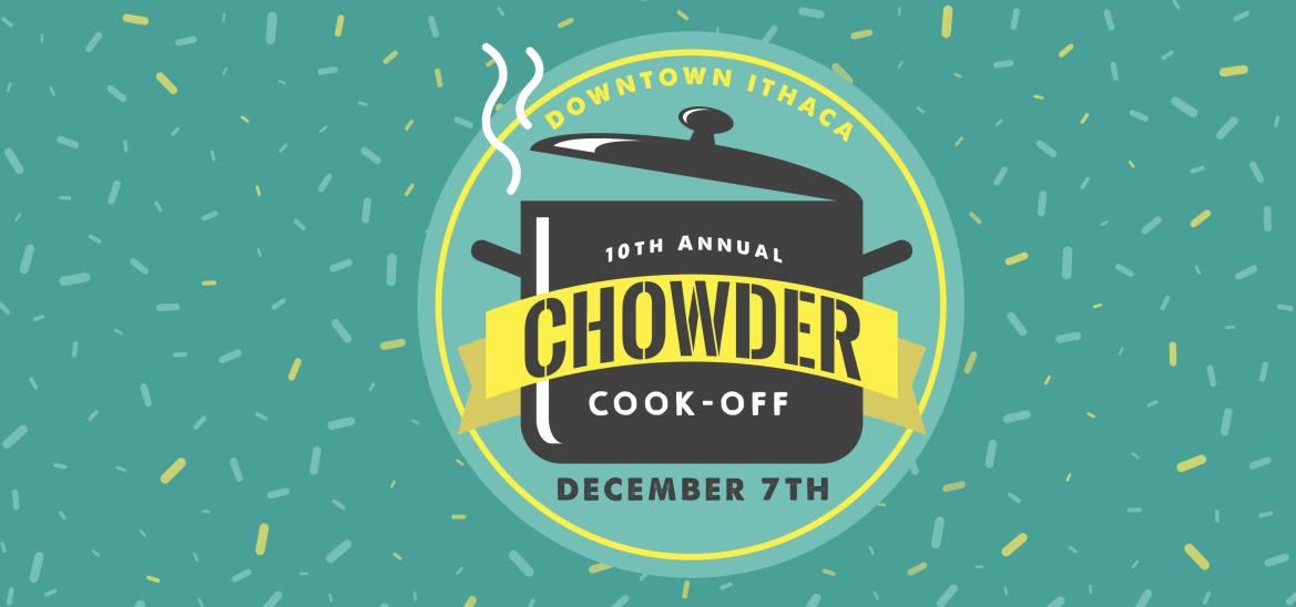 The 10th Annual Chowder Cook-off is coming to The Commons this weekend.