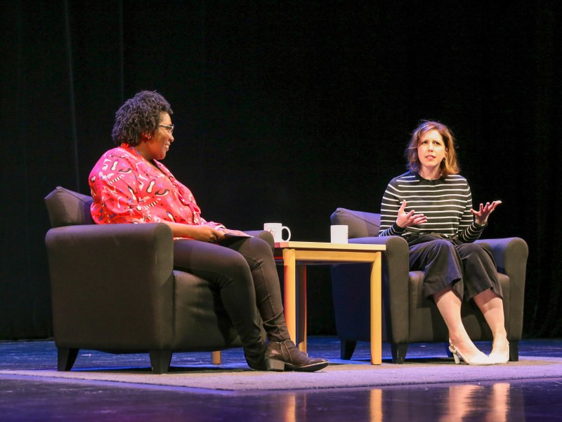 Vanessa Bayer speaks at Bailey Hall on January 25th, 2020