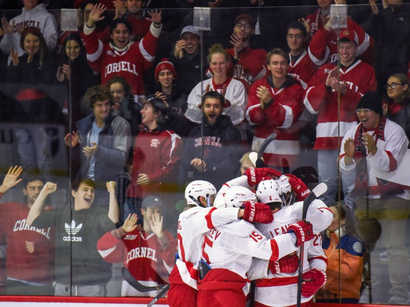 Cornell is 12-1-2 through 15 games.