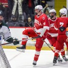 Cornell didn't secure its first lead until the third period, but it held on for the victory.