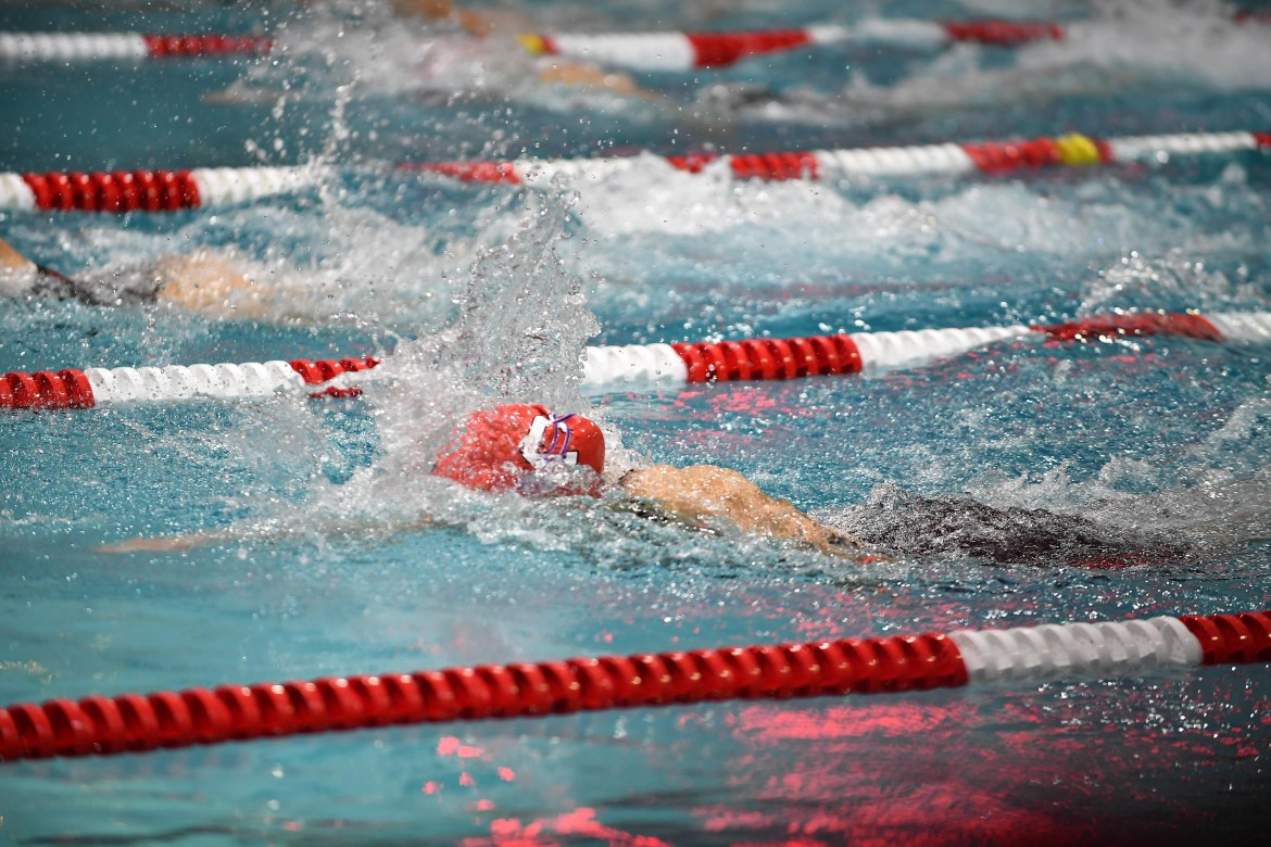 Senior day proved particularly successful for women's swim and dive.