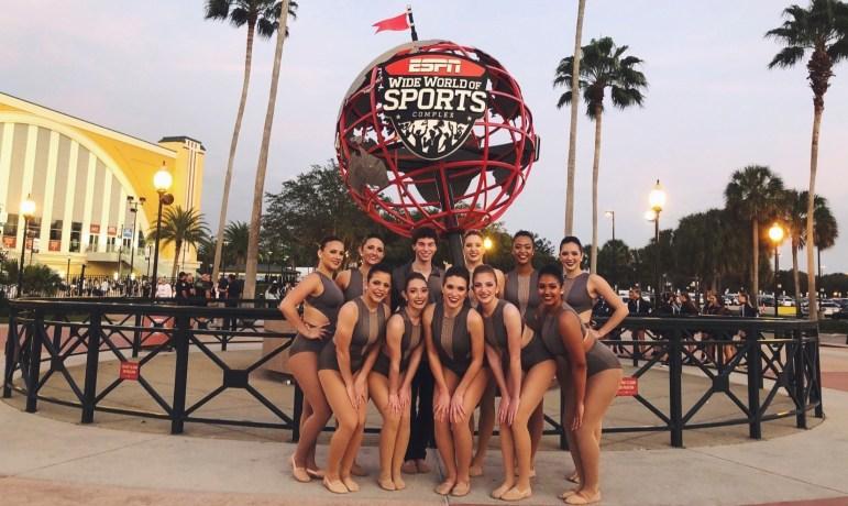 The Cornell Dance Team in Orlando, Florida.