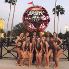 The Cornell Dance Team in Orlando, Florida.