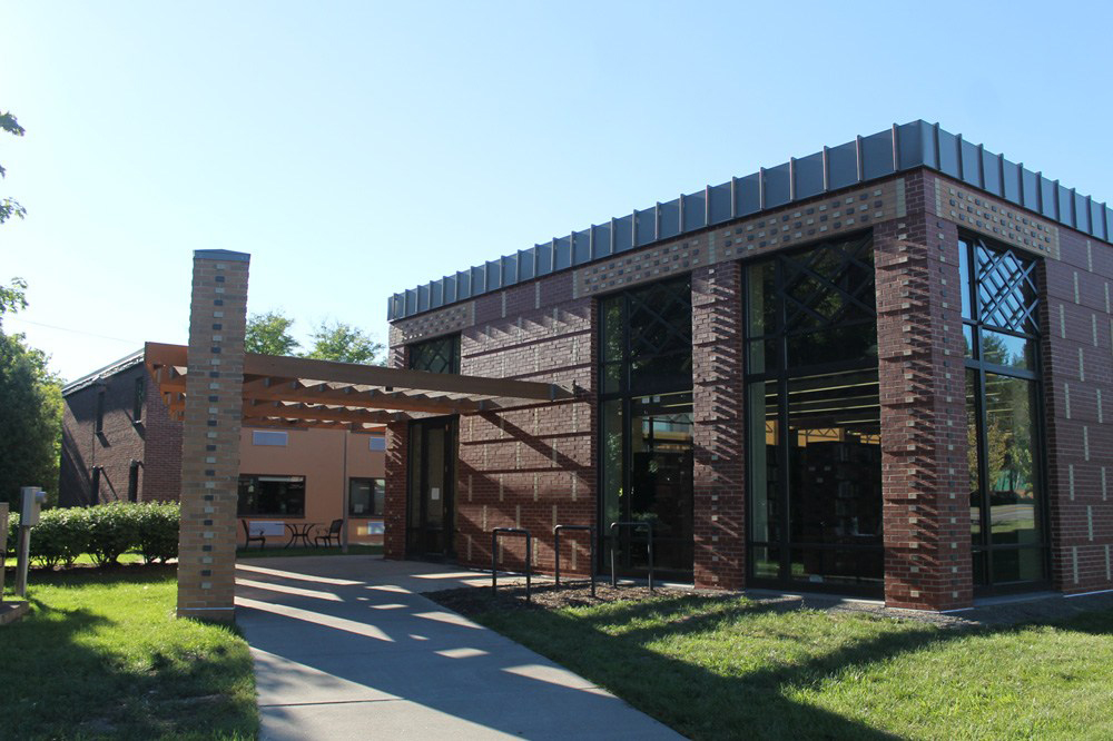 The Africana Center, located on 310 Triphammer Road.