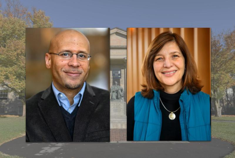 Burrow and Felippe have been names as new provost's fellows for public engagement.