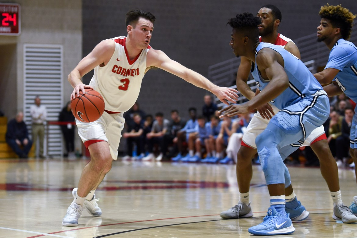 Cornell's star player Jimmy Boeheim was injured in the second game of the weekend. There is not currently an available timetable for his return.