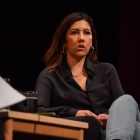 Stephanie Beatriz took the stage at Bailey Hall, discussing hit series Brooklyn Nine-Nine and race representation in television.