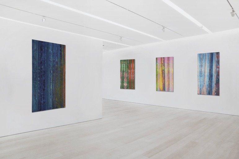 Installation View of Watercolors, courtesy of Pace Gallery