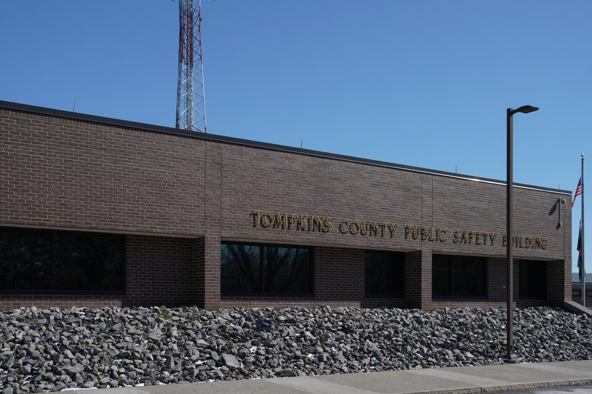 Visitors will no longer be allowed at the Tompkins County Jail in response to COVID-19 concerns.