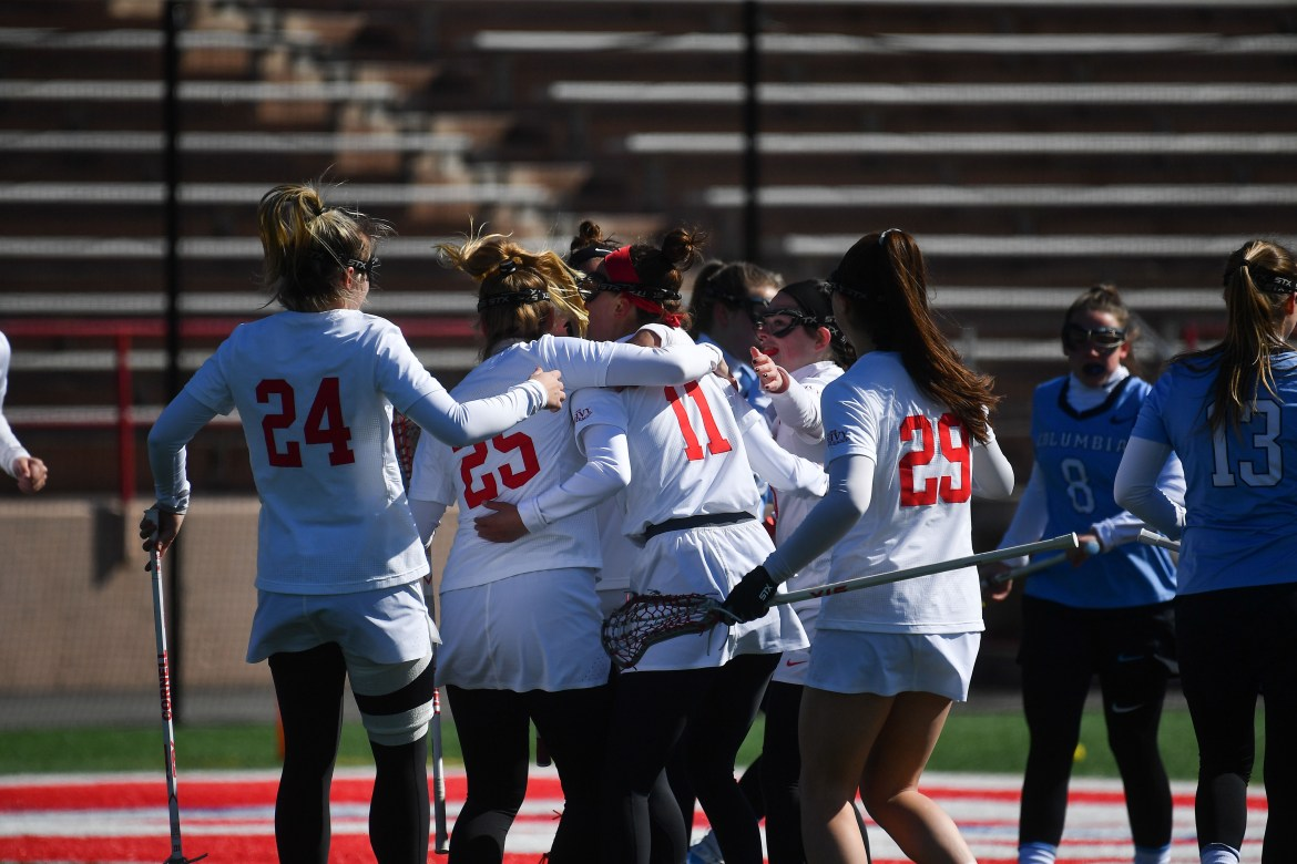 Cornell earned its 23rd straight win over Columbia.