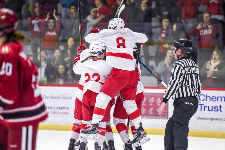 Four goals were plenty to advance Cornell to the ECAC Final.
