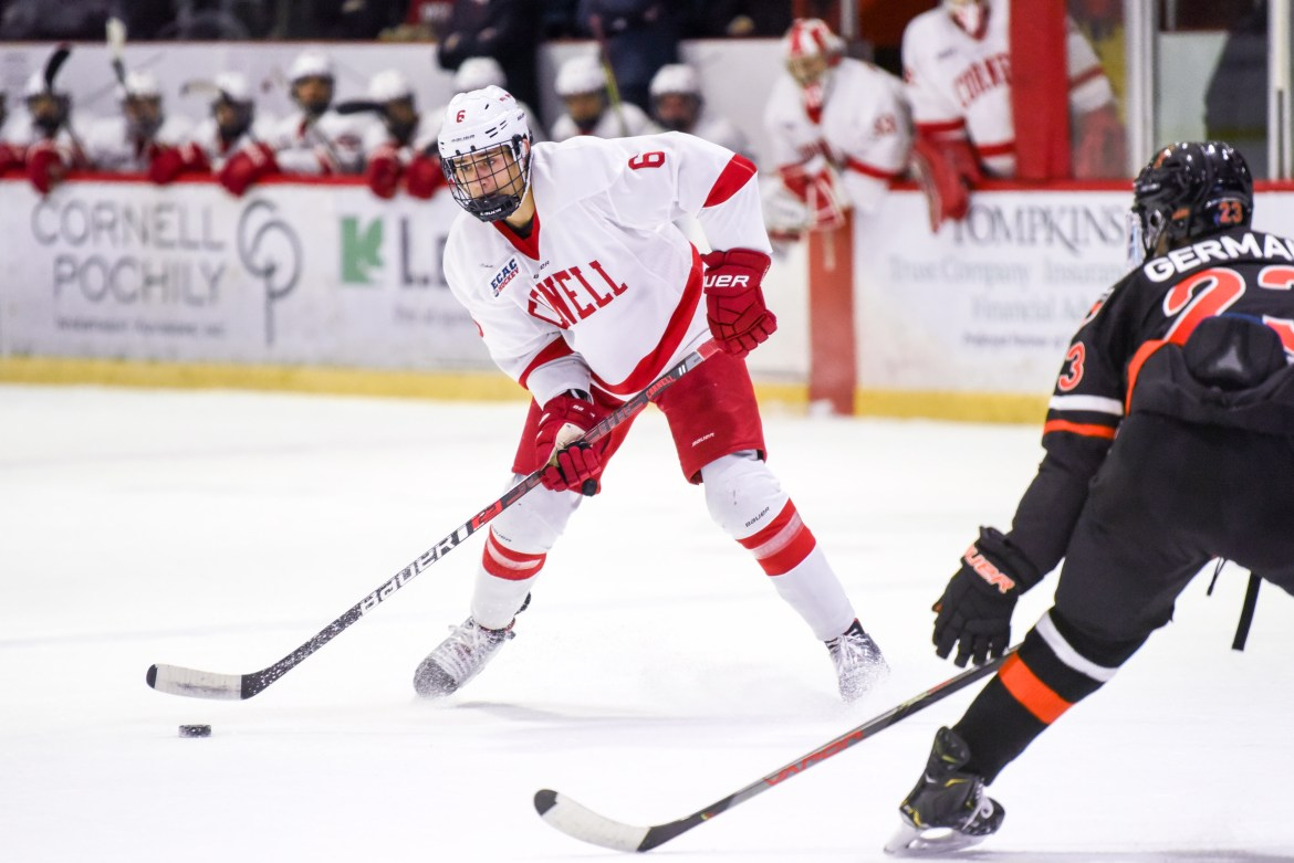 Alex Green was named the ECAC's best defensive defenseman on Tuesday.