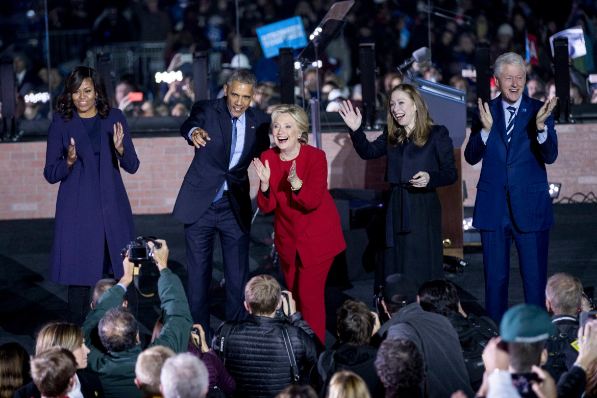 Hurwitz worked with both the Obamas during their administration and Hillary Clinton during her 2008 presidential campaign.