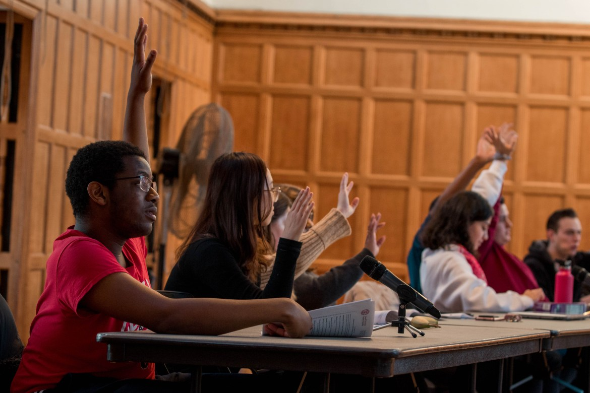 Student Assembly met on Thursday to pass a range of solutions regarding housing, Title IX and more.
