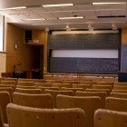 Traditional lecture halls will remain empty for the rest of the semester as classes continue online.
