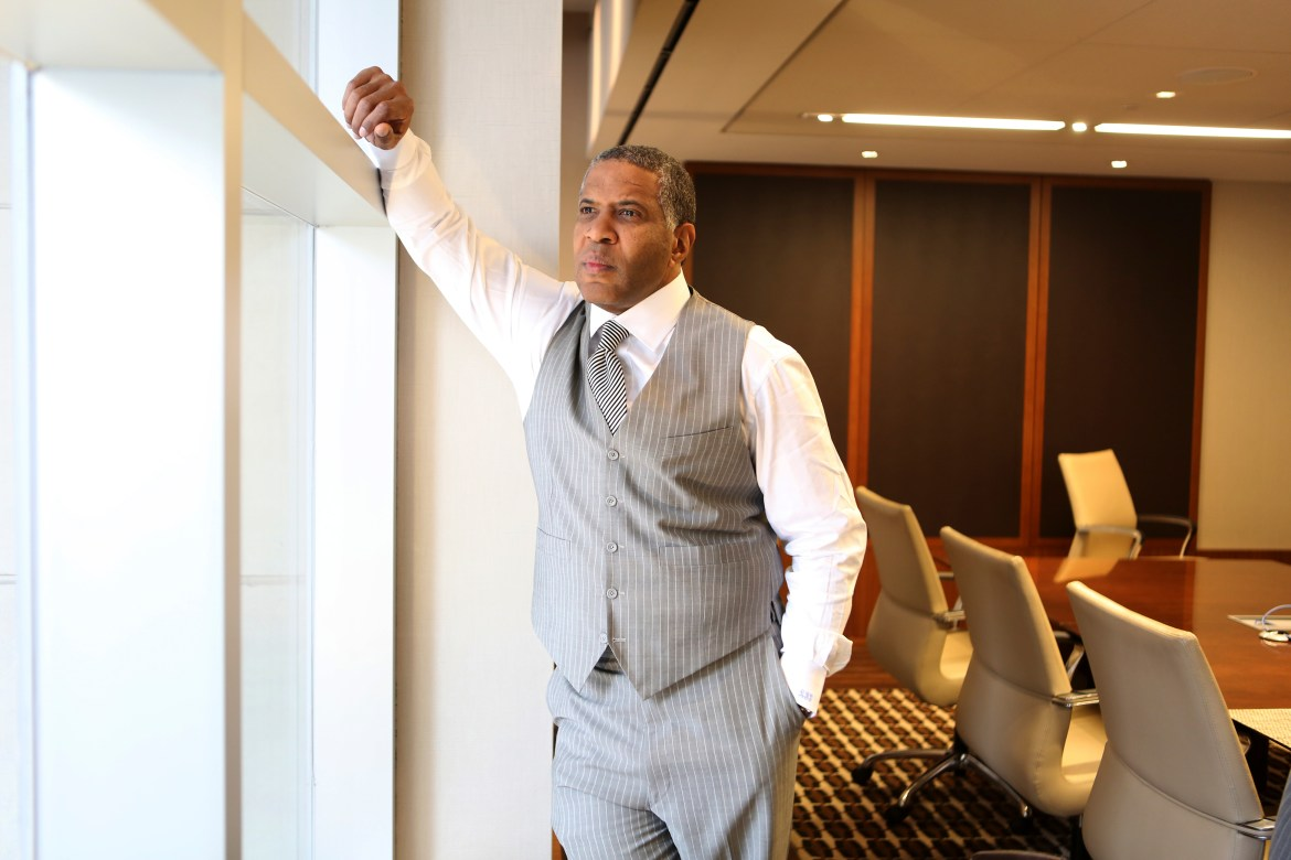 Robert F. Smith '85 is the founder, chairman and CEO of Vista Equity Partners, a private equity and venture capital firm.