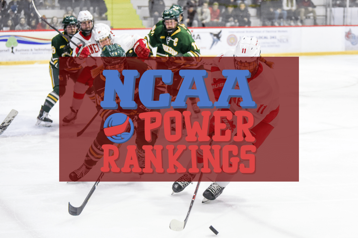 In a packed field, Cornell is the No. 1 seed and the No. 1 team in the NCAA power rankings.
