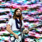 Tame Impala performs at the Governors Ball music festival in New York.
