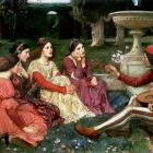 """The Decameron"" by John William Waterhouse"