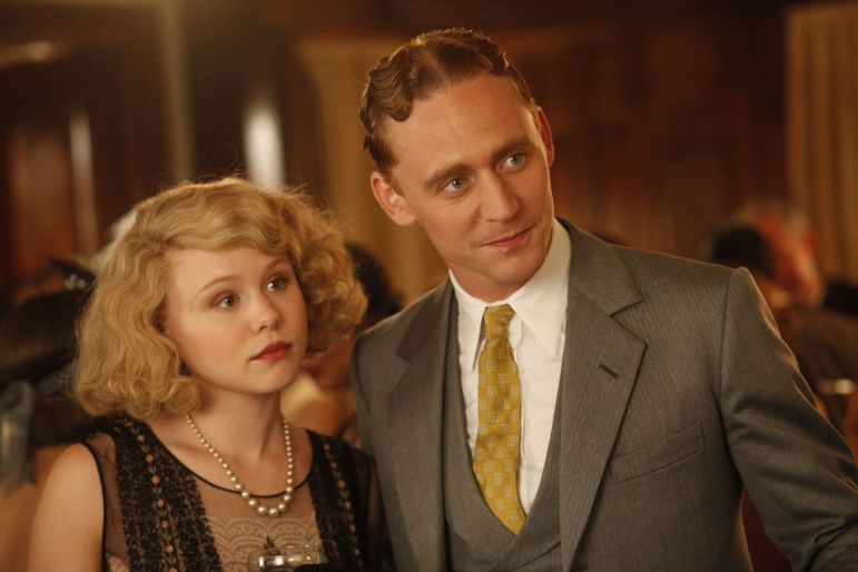 "Alison Pill and Tom Hiddleston as Zelda and F. Scott Fitzgerald in ""Midnight in Paris."""