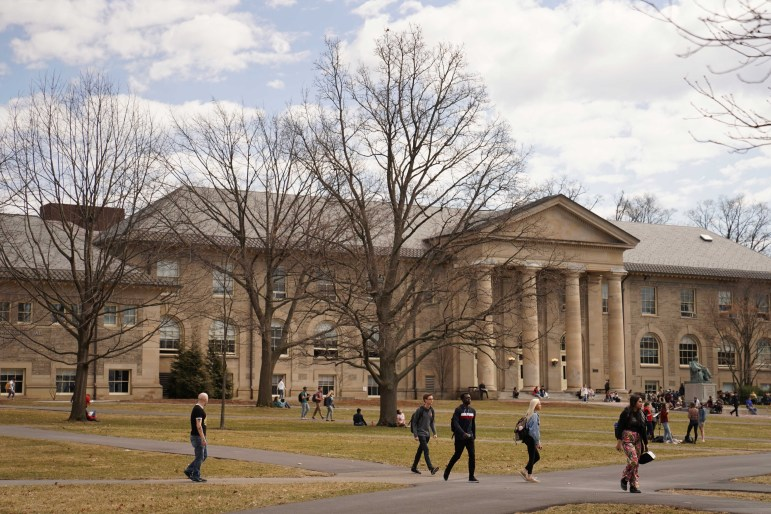 Cornellians can take classes in any of the University's seven schools and colleges.