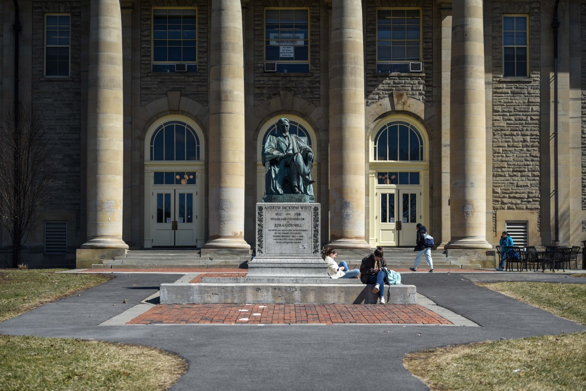 The recommendations of one of President Martha E. Pollack's planning committees will determine if students can walk the Arts Quad next semester.