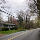 Homes in Chappaqua, New York. COVID-19 may threaten census accuracy in Ithaca after students retreated to their hometowns.