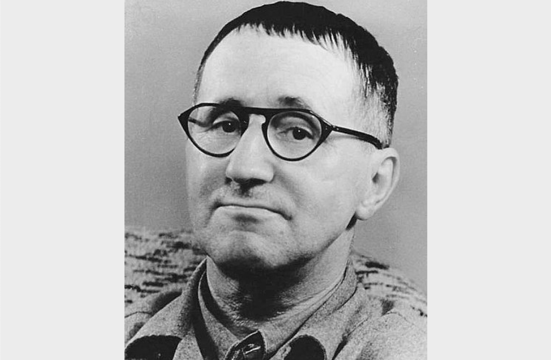 Bertolt Brecht, Courtesy of Wikimedia Commons