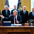 On March 27, President Trump signed into law a $2 trillion bipartisan relief bill for COVID-19.