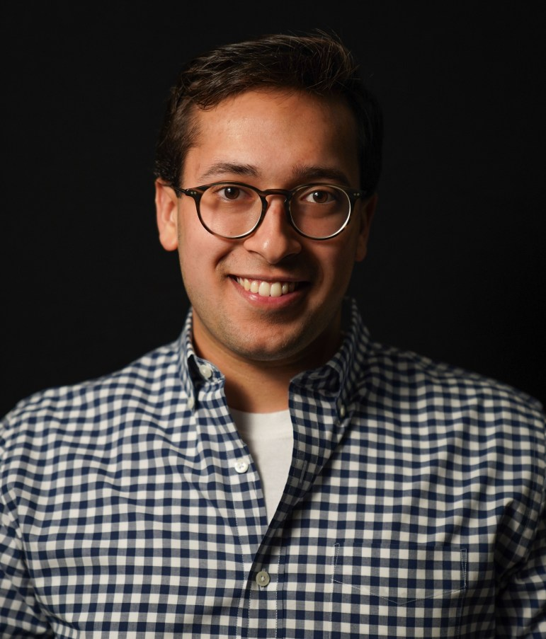 Benjamin Velani -  Dining Editor for the 138th Editorial Board. (Ben Parker / Sun Assistant Photography Editor)
