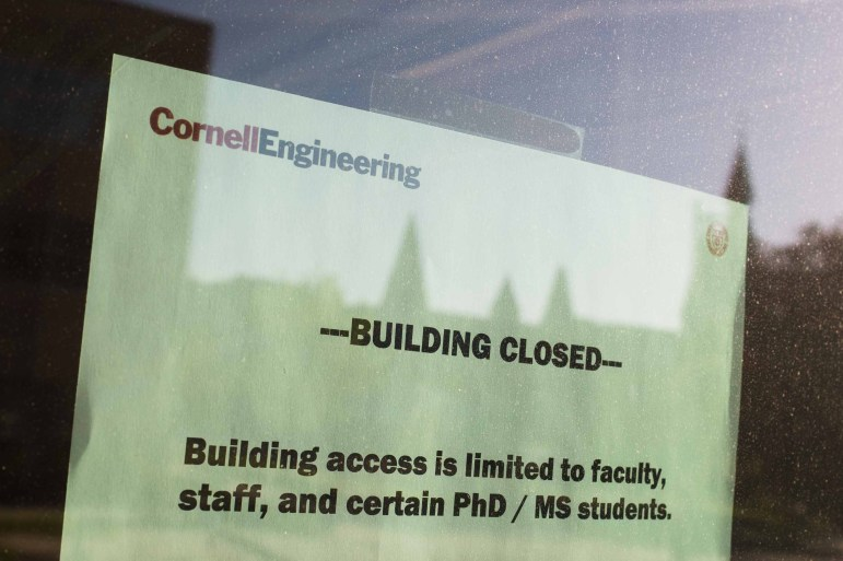 On campus research has been suspended since March, leaving researchers to find remote alternatives to their typical work.
