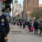 Policing in New York City show racial disparities with arrest records during quarantine.