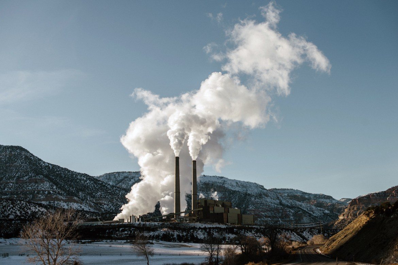 A coal-powered power plant in Huntington, Utah.