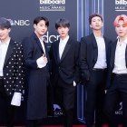 BTS on the Billboard Music Awards red carpet