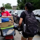 """Incoming students move into North Campus dorms in August 2019. While many Cornellians expressed excitement over the end of """"Zoom University,"""" others feel a semester of social distancing regulations and campus restrictions just isn't worth it."""