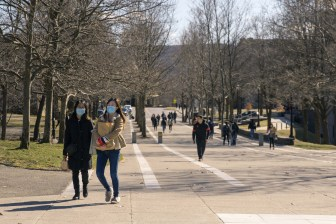This fall, mask wearing will now become mandatory on campus.