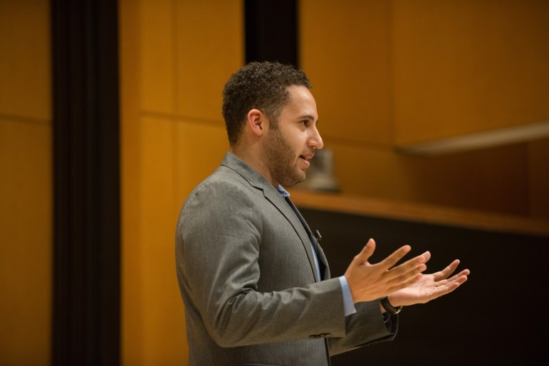 Ithaca mayor Svante Myrick '09 said that students coming back to Cornell's campus is good for the city's economy.
