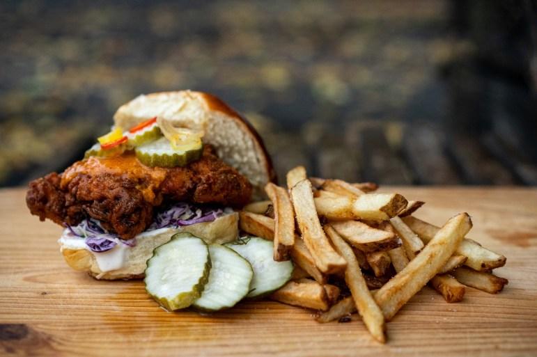 Chicken Sandwich, 2 Stay 2 Go. (Ben Parker/Sun Assistant Photography Editor)