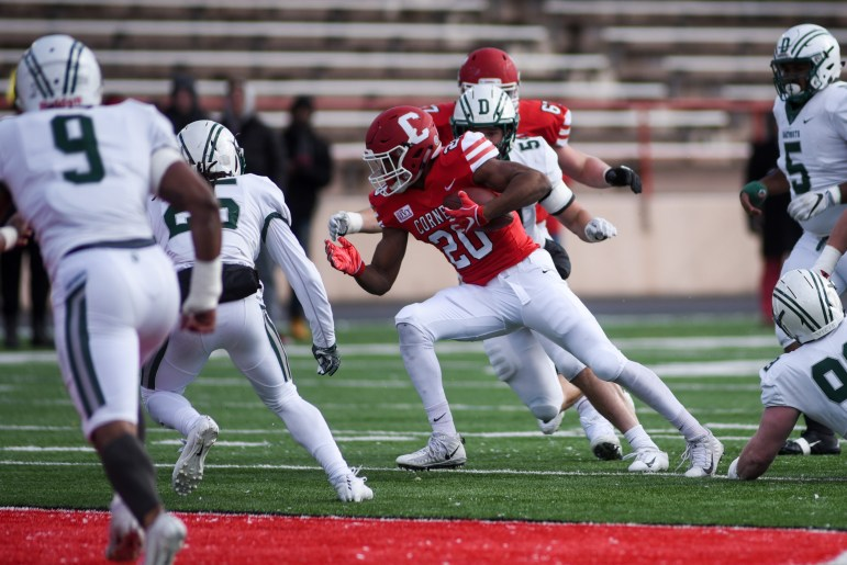 Dartmouth defeated Cornell 10 straight times before the Red upset the Green last year, 20-17.