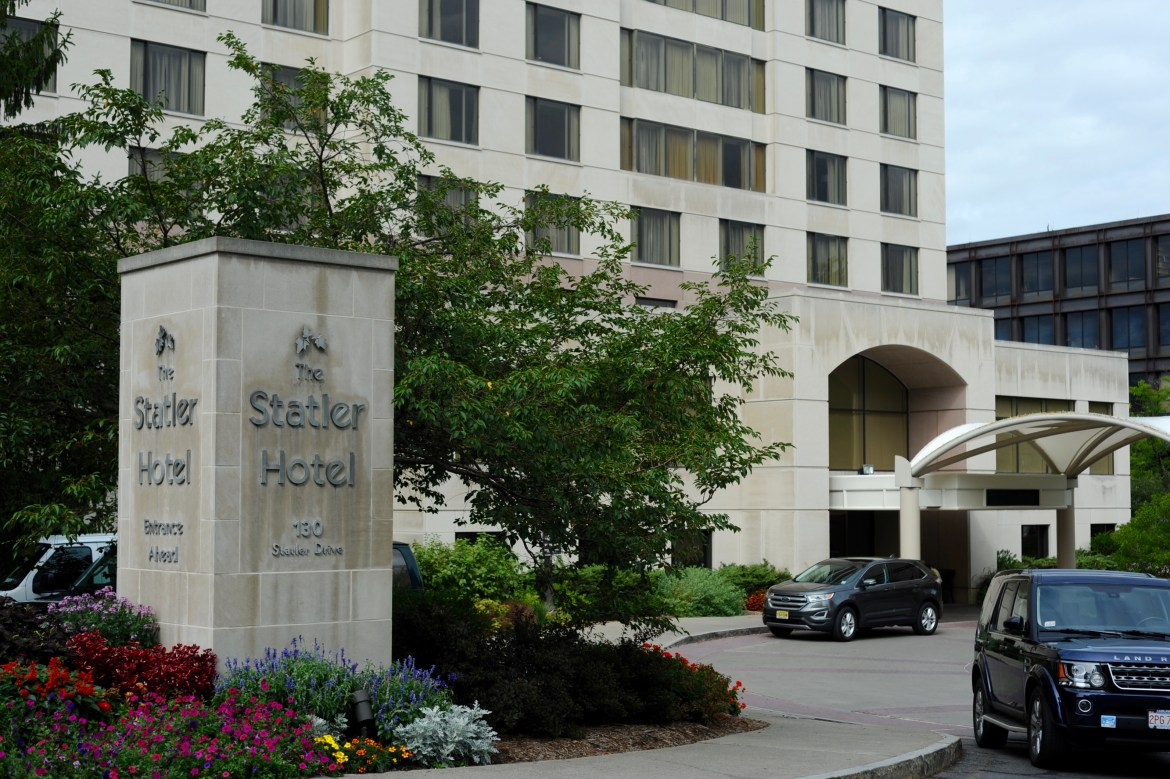 Although guests can't visit The Statler's restaurant, students deciding its specials are still attempting to create the best experience for their customers.