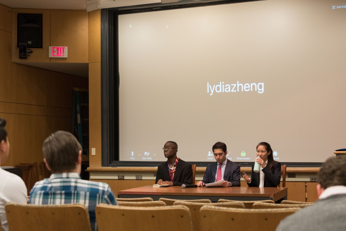 Student assembly candidates met for another virtual debate in light of their upcoming election, on Sept. 29.