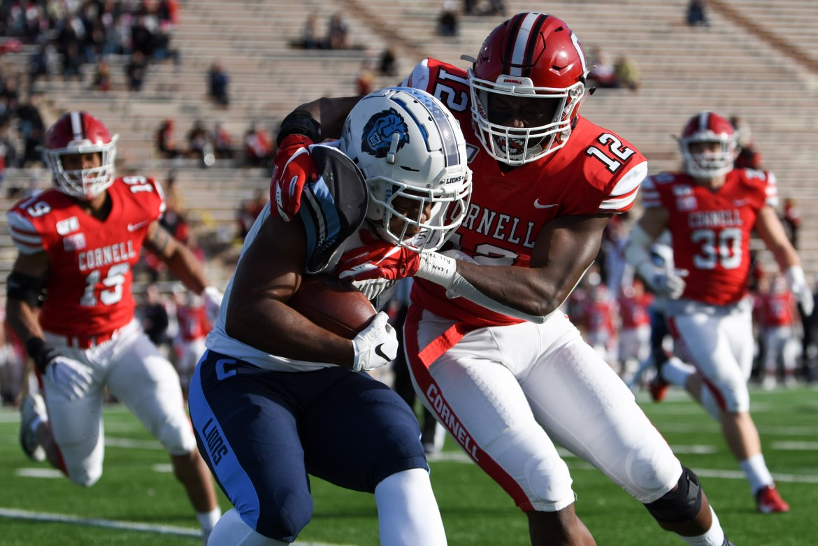 Because the Ivy League does not hold any form of playoffs, conference matchup have an increased meaning, such as Cornell's tilt with Columbia, which is known as the Empire Cup.