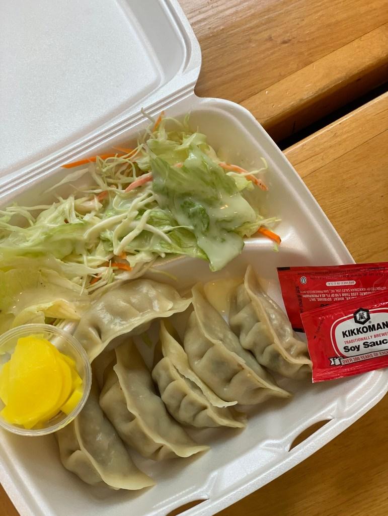 Beef dumplings. (Sadie Groberg/Sun Contributor)