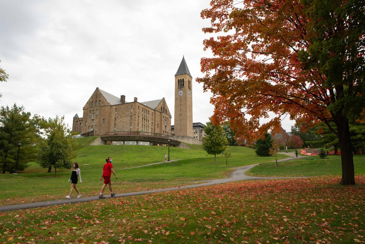 More than a month into the fall semester, Cornell saw just seven cases of COVID-19 last week.