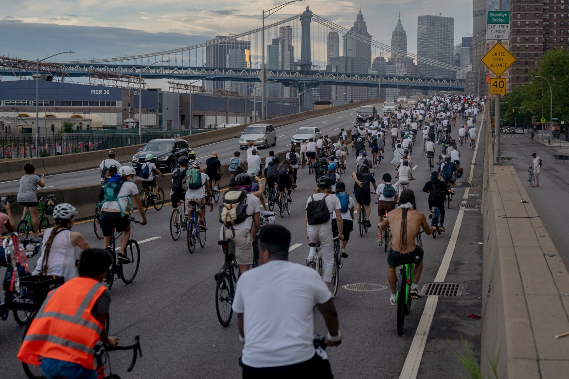 New Yorkers have been participating in bicycle Black Lives Matter protests, one of which was the event where Allison Eng '23 was hit by a car.