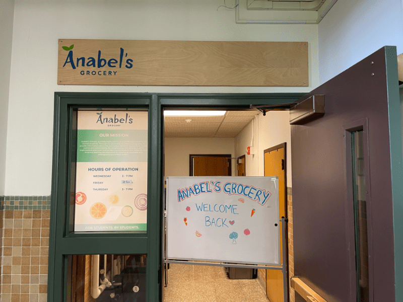 Anabel's Grocery is located in Ann Taylor Hall and operated primarily by students. (Thomas Law / Sun Contributor)