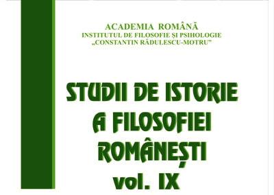 Soartă şi rost: reconstrucţie fenomenologică a destinului la Mircea Vulcănescu