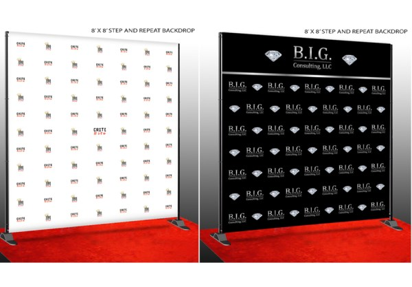 Corner 10 Photo Booth Services Custom Banner Design Product Image