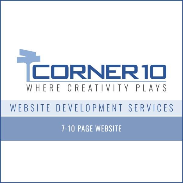 Corner 10 Creative Website Development 7-10 pages